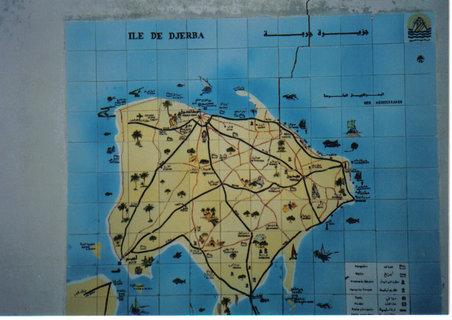 FOTKA - mapa Djerby