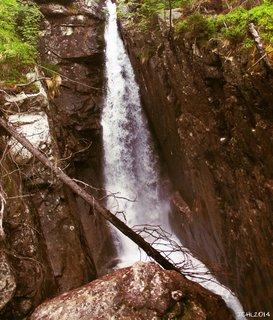 FOTKA - vodop�d Vysok� Tatry
