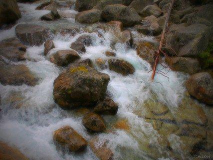 FOTKA - vodní tok   - Tatry