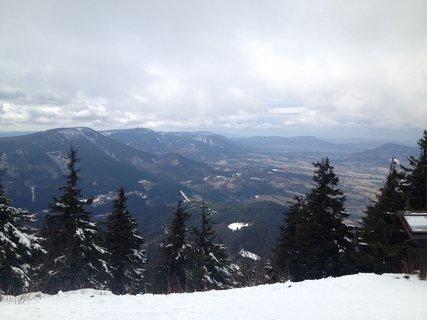 FOTKA - Pohled na Beskydy z Lysé hory