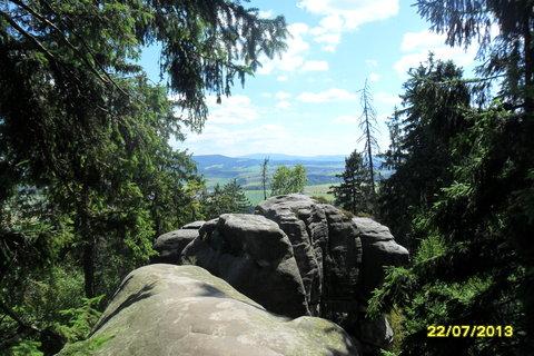 FOTKA - Výhled z Ostaše