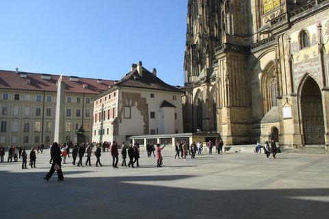 FOTKA - Třetí nádvoří Pražského hradu