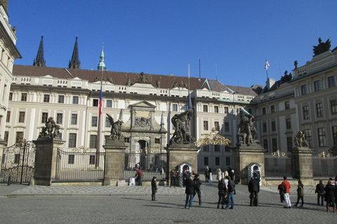 FOTKA - První nádvoří Pražského hradu