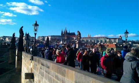 FOTKA - jarní     Praha