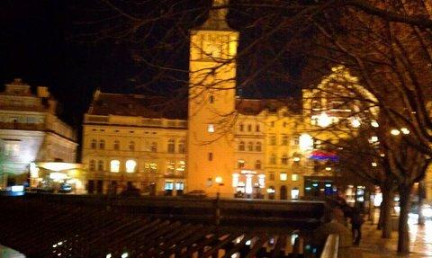 FOTKA - večerem po Praze