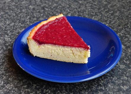 FOTKA - malinovy cheese cake