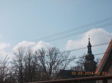 FOTKA - nebe včera, bylo krásněěěěě