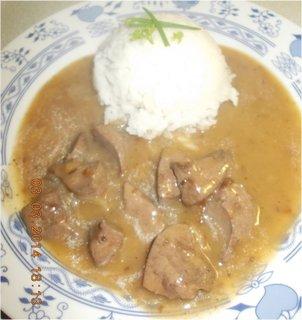 FOTKA - vepřová játra s rýží