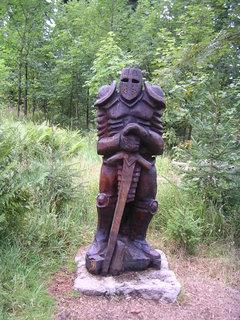 FOTKA - Dřevěná socha....
