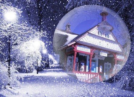 FOTKA - Libušín v zimě 2
