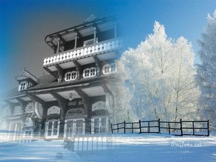 FOTKA - Libušín v zimě 4
