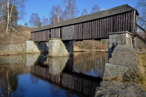 FOTKA - Krytý dřevěný most-Šumava
