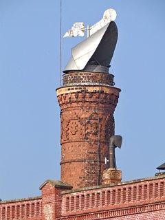 FOTKA - Detail jednoho z pivovarský komínů