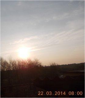 FOTKA - východ slunce včera