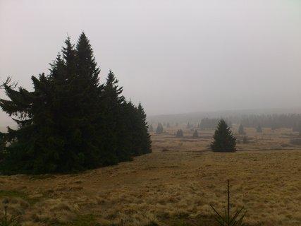 FOTKA - výšlap na Klínovec, déšť