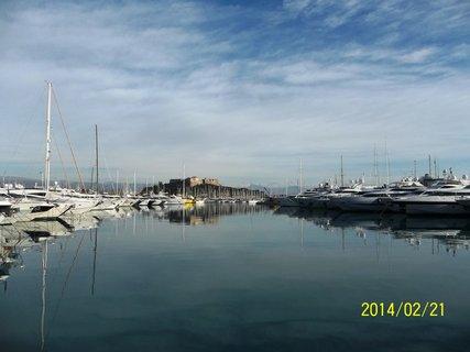 FOTKA - Antibes v únoru