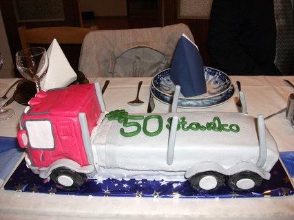 FOTKA - torta pre kamionistu