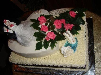 FOTKA - svadobna torta
