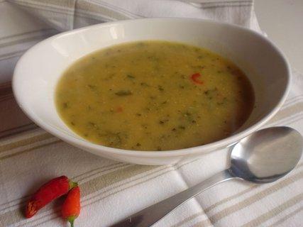 FOTKA - Kořeněná marocká polévka z cizrny