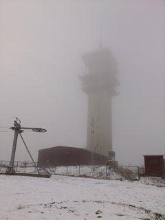 FOTKA - na Klínovci, mlha