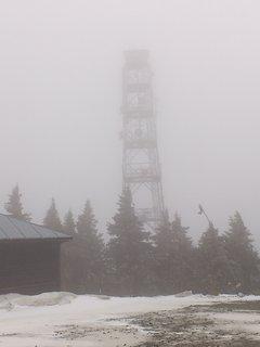 FOTKA - Klínovec, zima, mlha