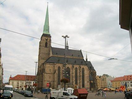 FOTKA - kostel sv. Bartoloměje v Plzni