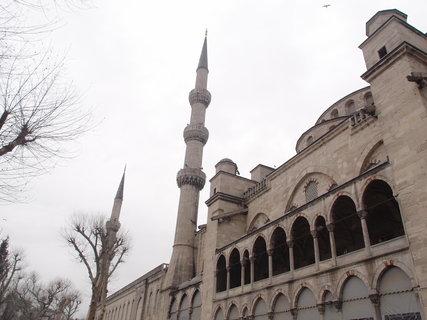 FOTKA - boční strana mešity