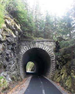 FOTKA - Lázně Jáchymov - starý tunel, nová cyklo
