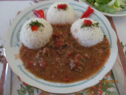 FOTKA - Játra s rýží - sváteční oběd