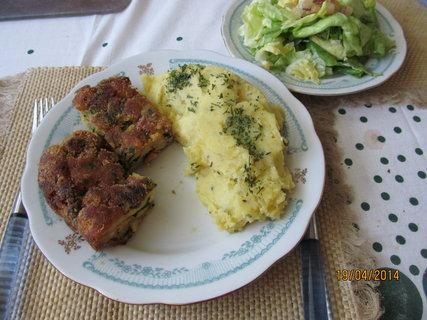 FOTKA - Nádivka s bramborovou kaší