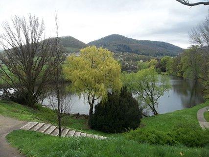 FOTKA - Pohled do parku v Klášterci nad Ohří