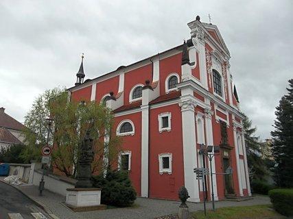 FOTKA - Kostel v Kl�terci nad Oh��