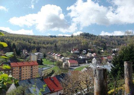 FOTKA - Pohled z kopce na Jáchymov