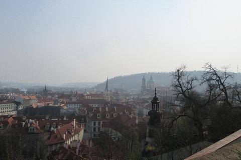 FOTKA - Svatováclavská vinice - pohled na Chrám sv. Mikuláše