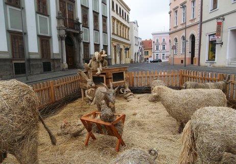 FOTKA - Hezká výzdoba ve Znojmě