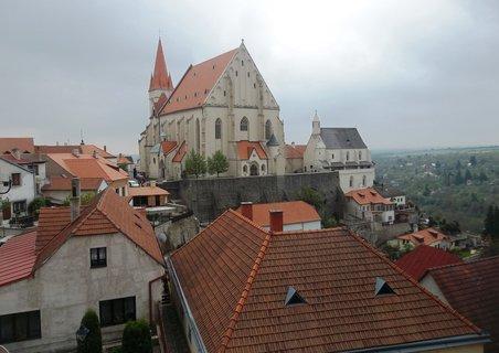 FOTKA - Pohled na kostel sv. Mikuláše -Znojmo