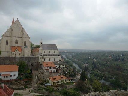 FOTKA - Výhled z hradu.. Znojmo