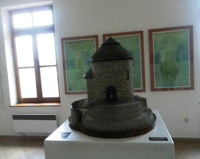 FOTKA - Rotunda sv. Kateřiny. .maketa