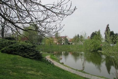 FOTKA - Centrální park ve Kbelích kvete a zelená do krásy