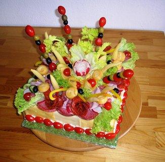 FOTKA - 1. slaný dortík
