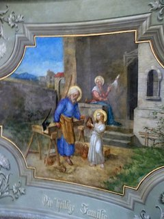 FOTKA - Stropní malba Rumburk