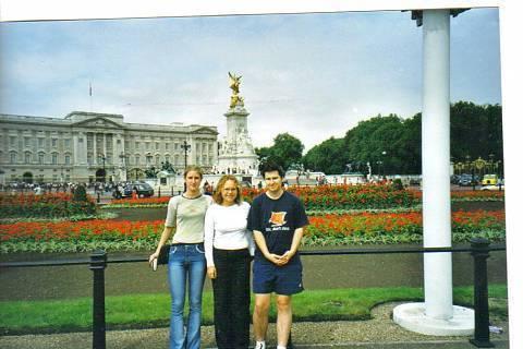 FOTKA - Buckinghamský palác