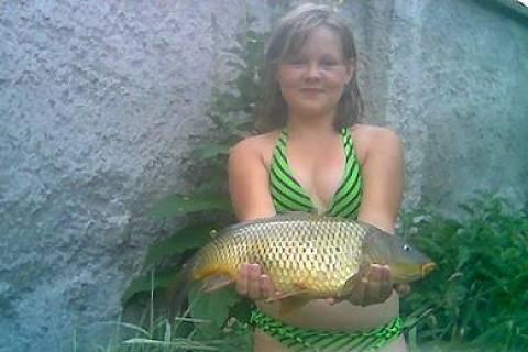 FOTKA - Já a moje 1.ryba
