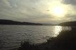 Lipenské jezero před zípadem slunce