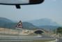 Cesta do Chorvatska-pohled z auta