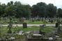 Hřbitov u našeho hostelu