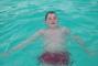 Fanda v bazénku