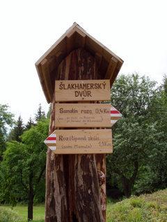 FOTKA - Šlakhamerský dvůr, rozcestník