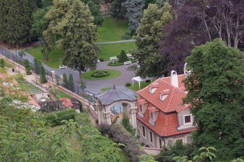 FOTKA - v zahradách pod Pražským hradem*