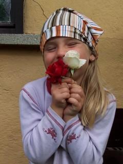 FOTKA - S růžičkama